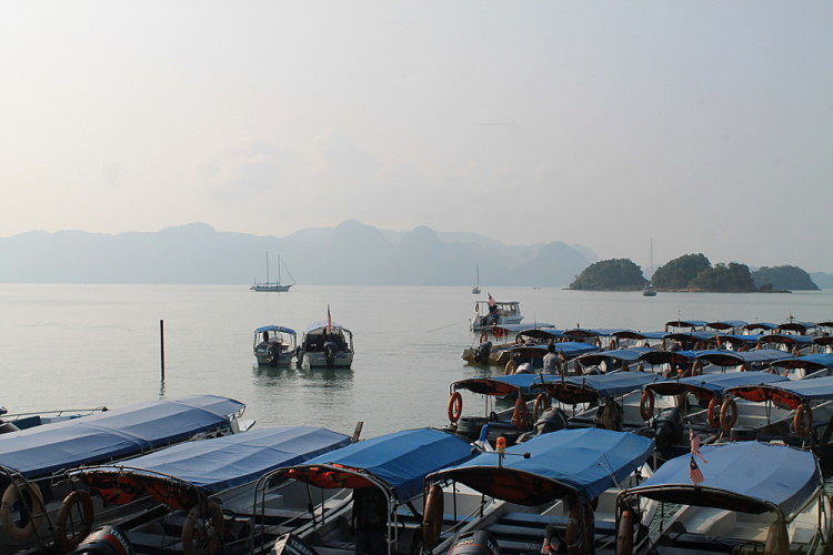 Langkawi, a popular island to visit when backpacking in Malaysia