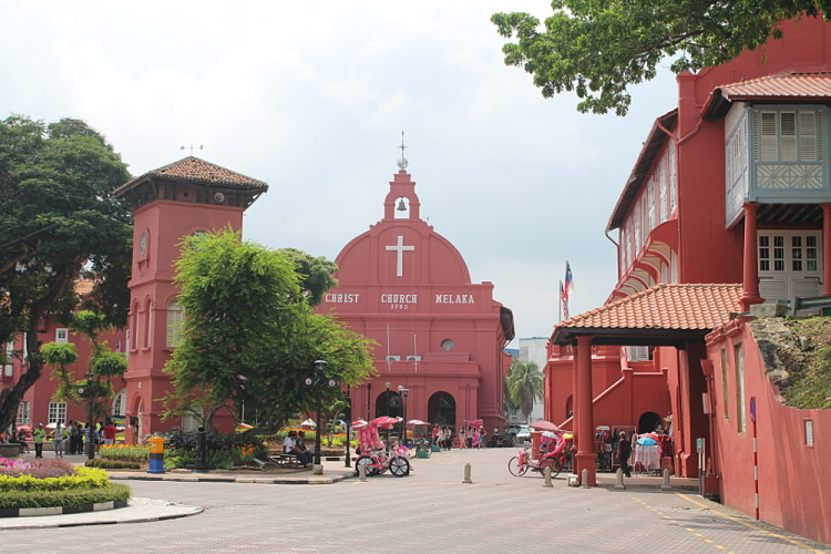 Malacca - the best historical town to visit when backpacking in Malaysia