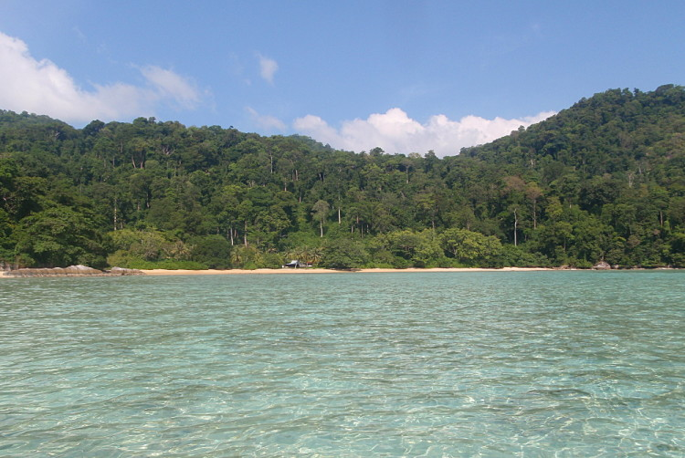 Pulau Tioman, a great island to visit if backpacking in Malaysia