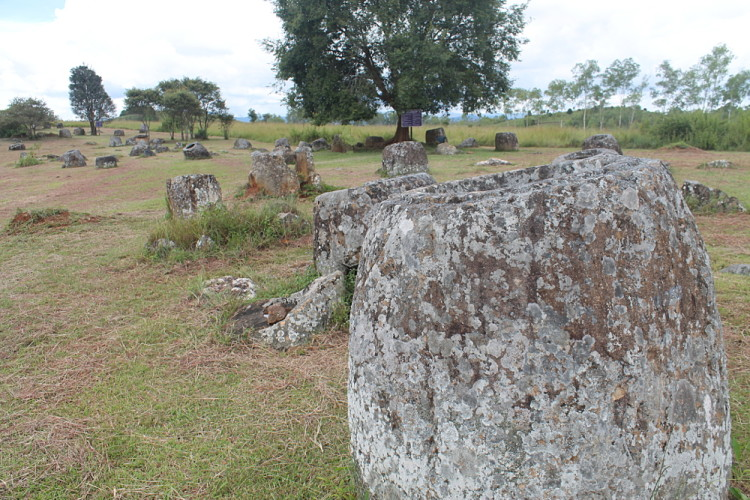 Site 1 at the Plain of Jars in Phonsavan, Laos