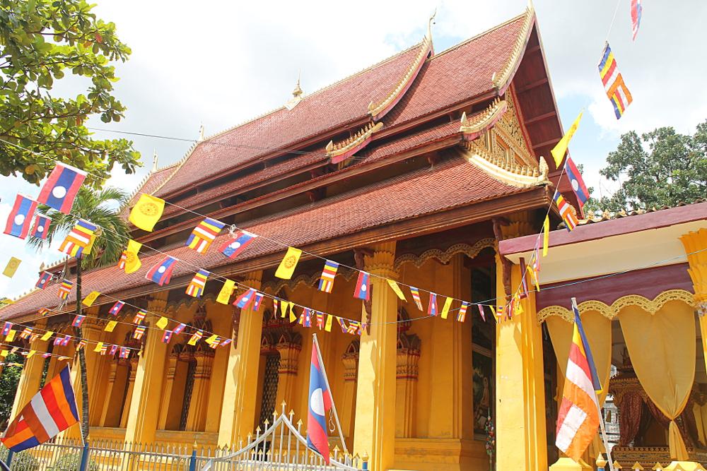 Wat Mixay in Vientiane, Laos