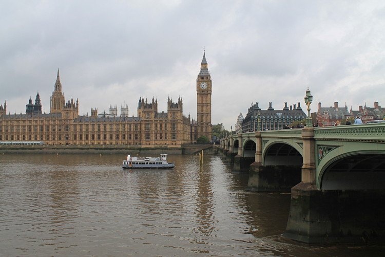 A pop cultural tour of London - Big Ben as seen on Shanghai Knights