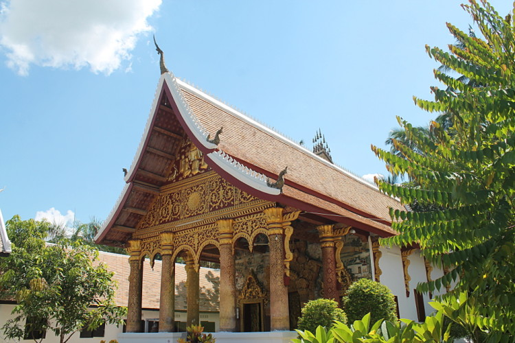 A small temple in Luang Prabang, Laos