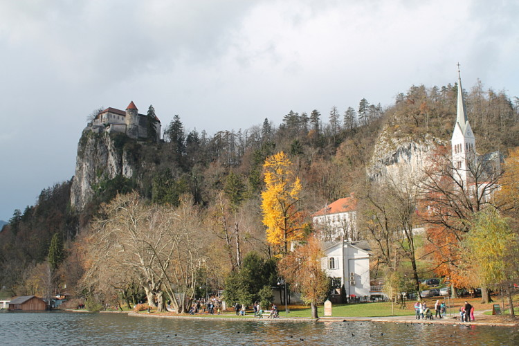 Bled Castle and Lake Bled, Slovenia