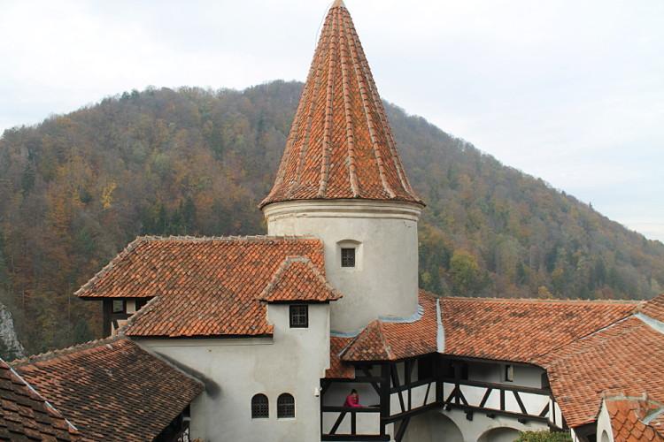 Dracula's castle - or Bran Castle, in Transylvania, Romania