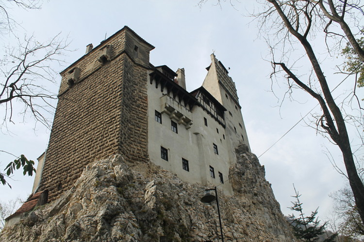 Searching for Robert Pattinson at Bran Castle, Transylvania