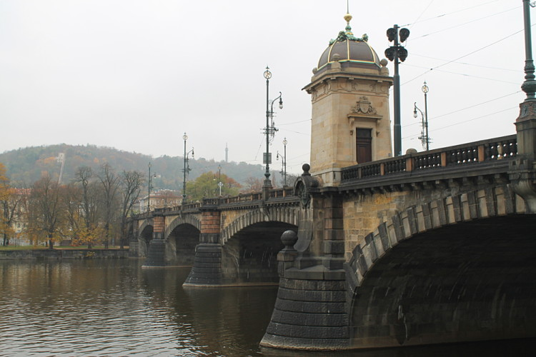 Exploring Prague - so many bridges!