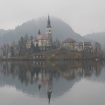 Lake Bled in Autumn (Fall): Fairy Tales and Rain Clouds
