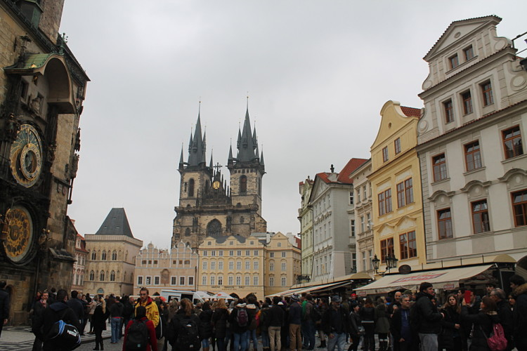 The Old Town Square - a must see when exploring Prauge