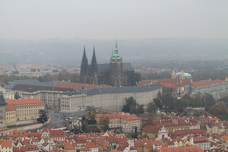 Prague Castle - a must see when exploring Prague