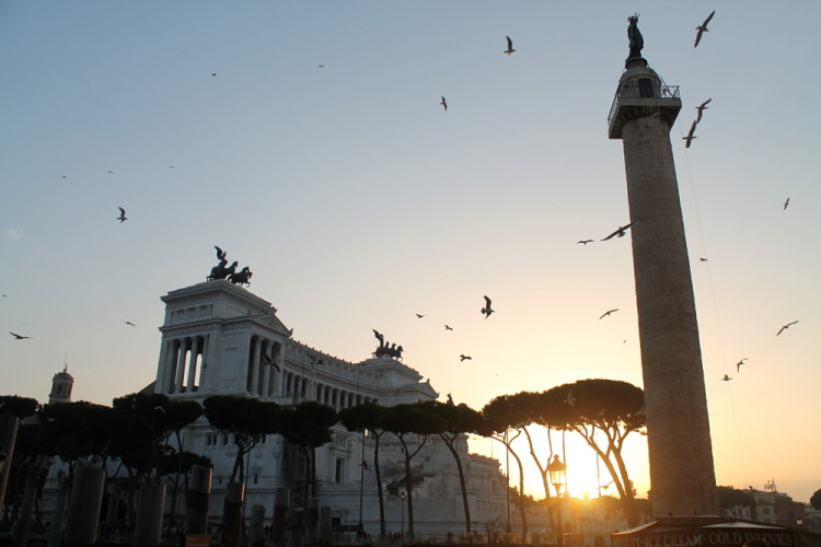 Two days in Rome -- Trajan's Column