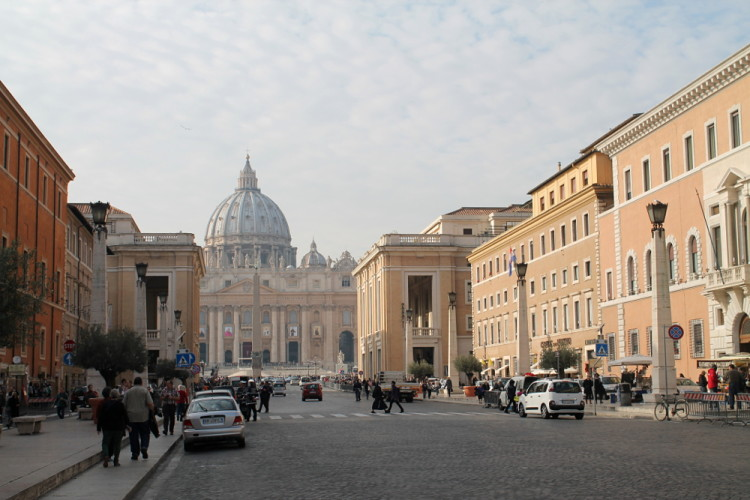 Two days in Rome -- The Vatican City