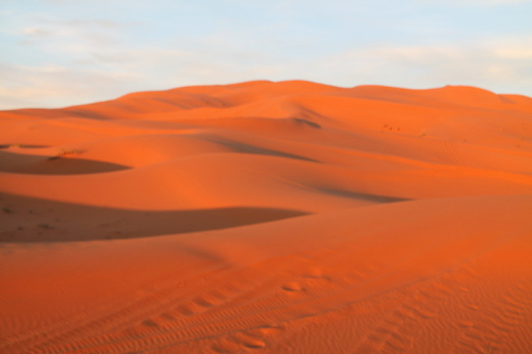 Erg Chebbi desert dunes, Morocco
