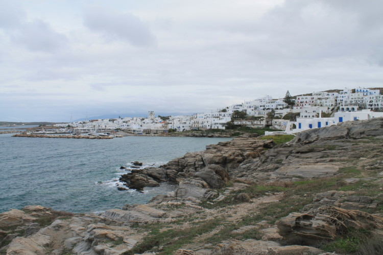 Naousa - a small town to visit if you're in the Greek islands in winter