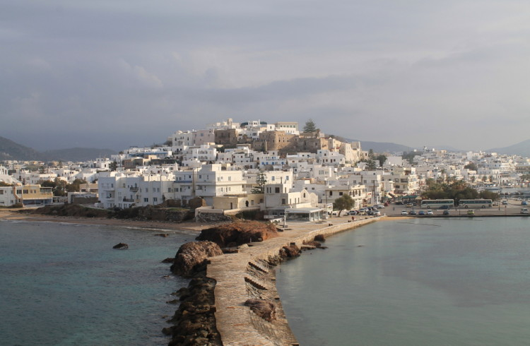 4 reasons to visit the Greek islands in winter - Naxos Old Town