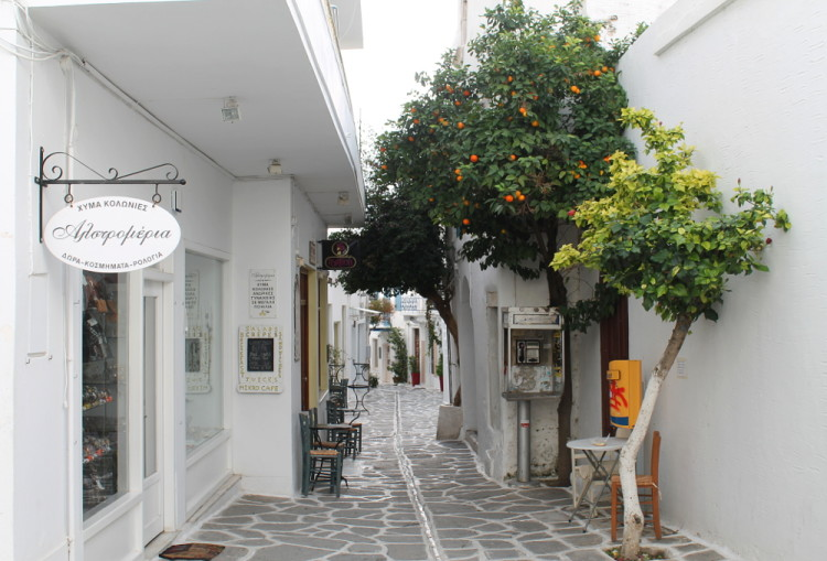 Parikia - A must if you're visiting the Greek islands in winter