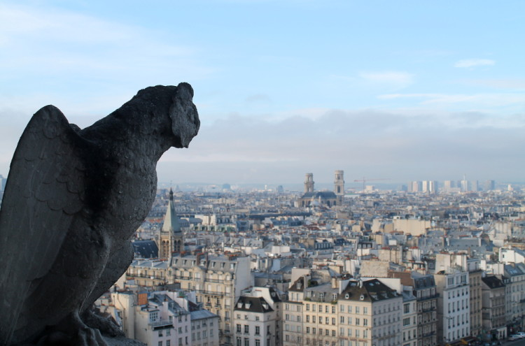 Two days in Paris, extreme sightseeing: Notre Dame Cathedral
