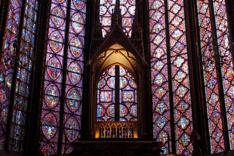 Two days in Paris, extreme sightseeing: Sainte Chapelle