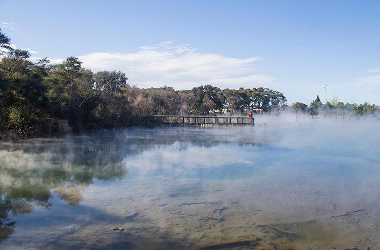 Things to do in Rotorua, New Zealand: Kuirau Park