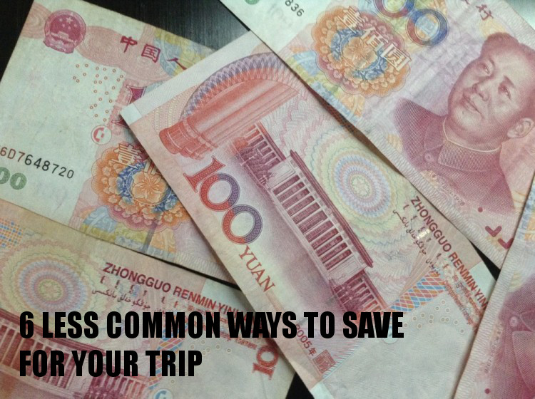 Ways to save for your trip - one of many travel tips you never knew you needed