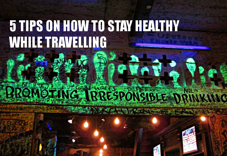travel tips on how to stay healthy
