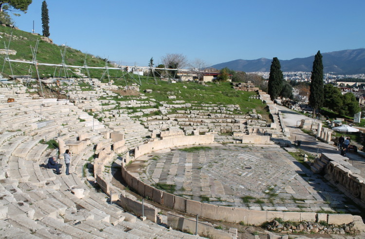 Theatre of Dionysus at the Acropolis, Athens, Greece