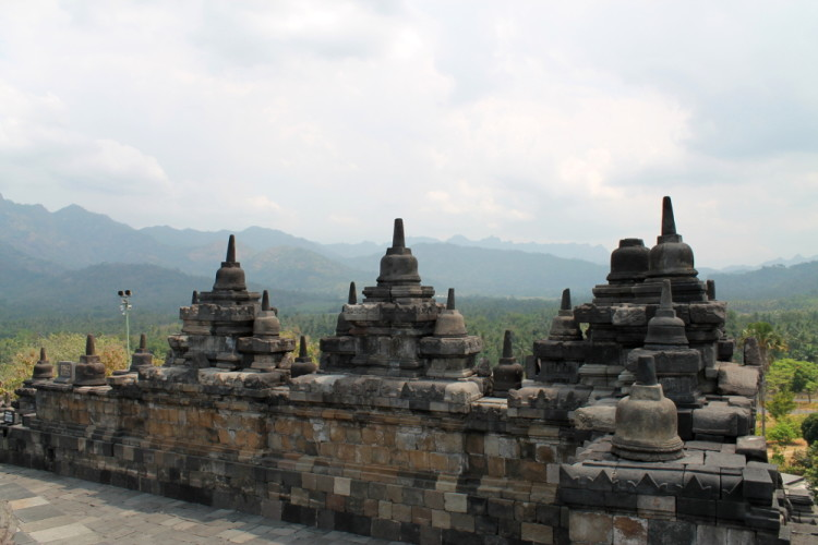 Borobudur - the best ancient temple I saw while backpacking in Indonesia