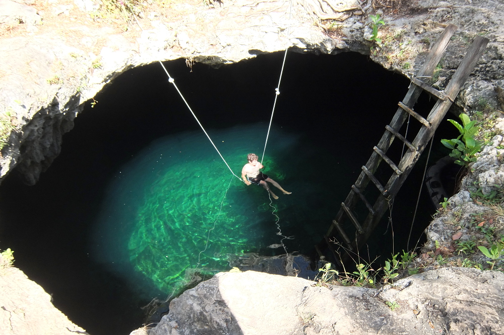 Cenote Calavera A Stunning Swimming Spot In Tulum Mexico