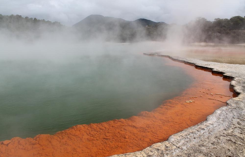A year on the road: Champagne Pool, Rotorua, New Zealand