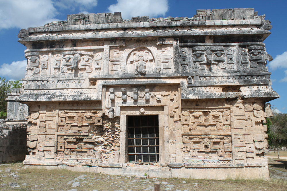 The church at Chichen Itza, Mexico