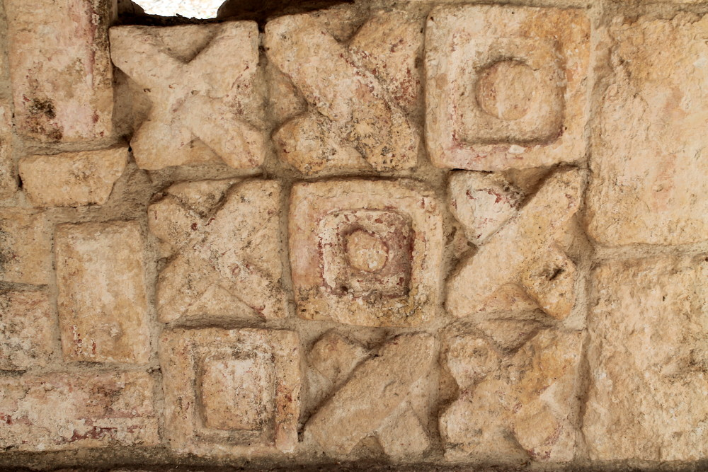 Tic tac toe at Chichen Itza, Mexico
