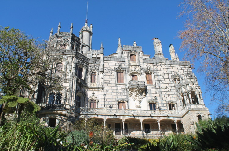 Quinta Da Regaleira - a must see on a day trip to Sintra from Lisbon, Portugal