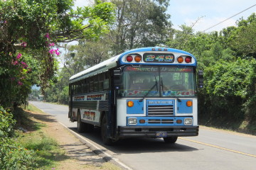 A guide to riding chicken buses in Central America