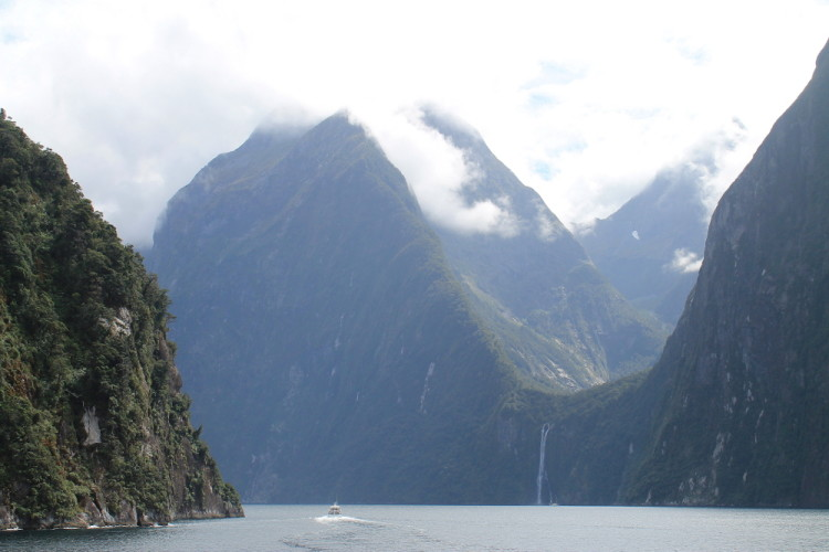 The mountains of Milford Sound, New Zealand