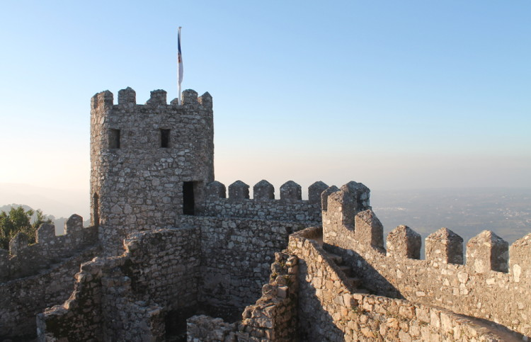 The Moorish Castle - a good stop on a day trip to Sintra, Portugal