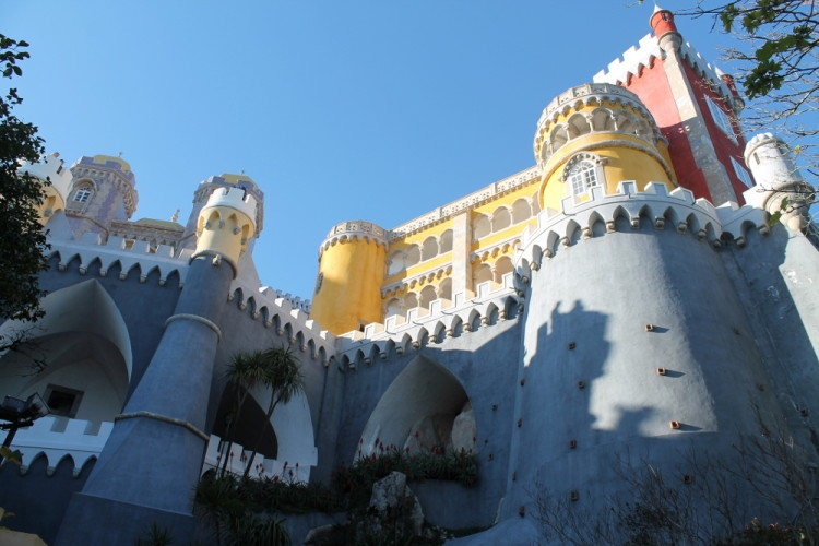 Pena Palace - a must see on a day trip to Sintra, Portugal