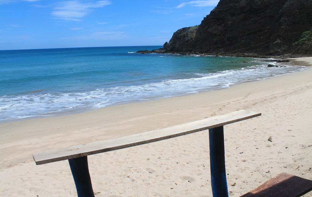 Playa Maderas, one of the finest of the northern beaches in San Juan Del Sur