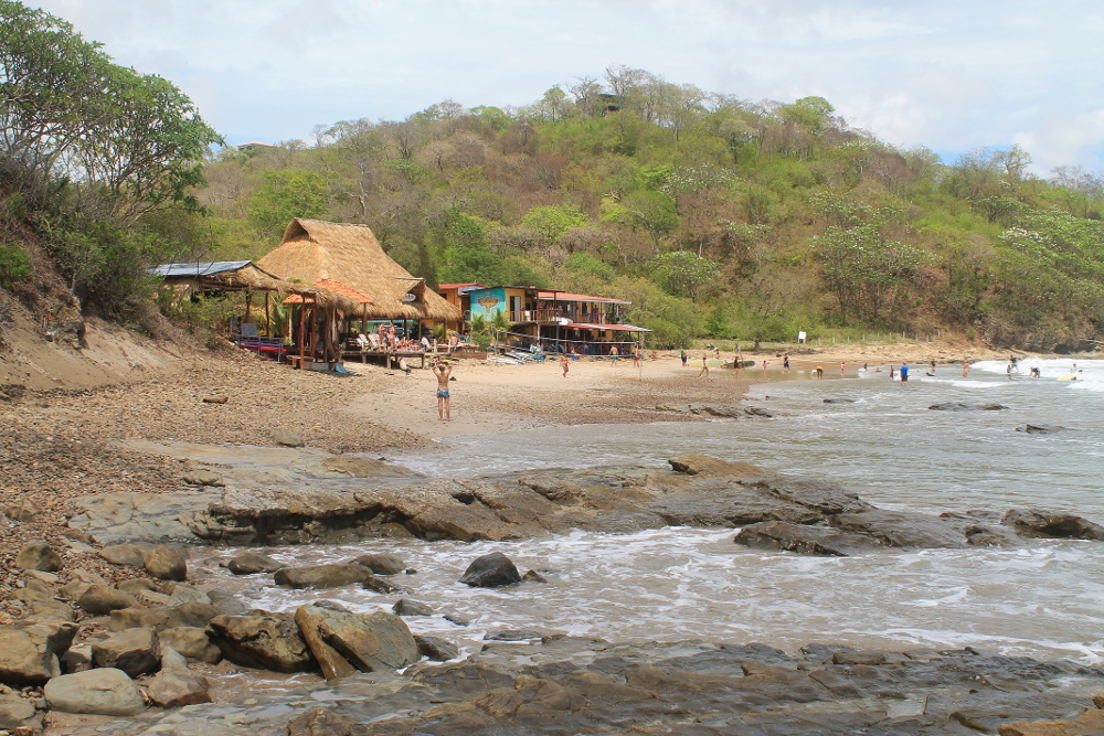 Playa Maderas - one of the best beaches in San Juan Del Sur for surfing