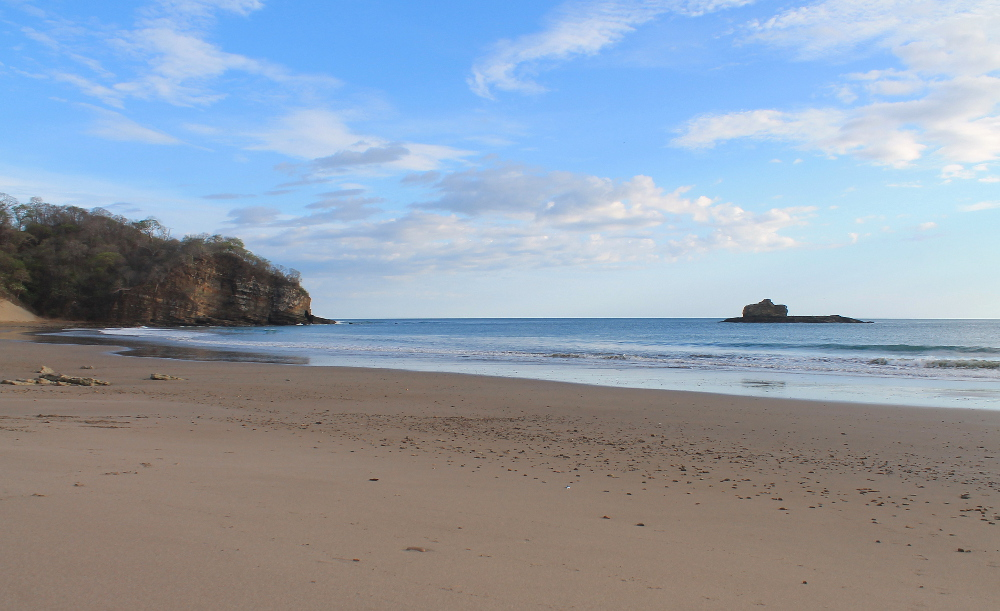 Playa Marcela, one of the best beaches in San Juan Del Sur, Nicaragua