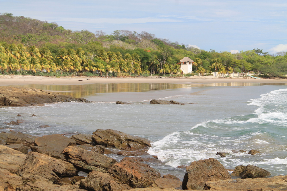 Playa Santo Domingo: One of the deserted northern beaches in San Juan Del Sur, Nicaragua