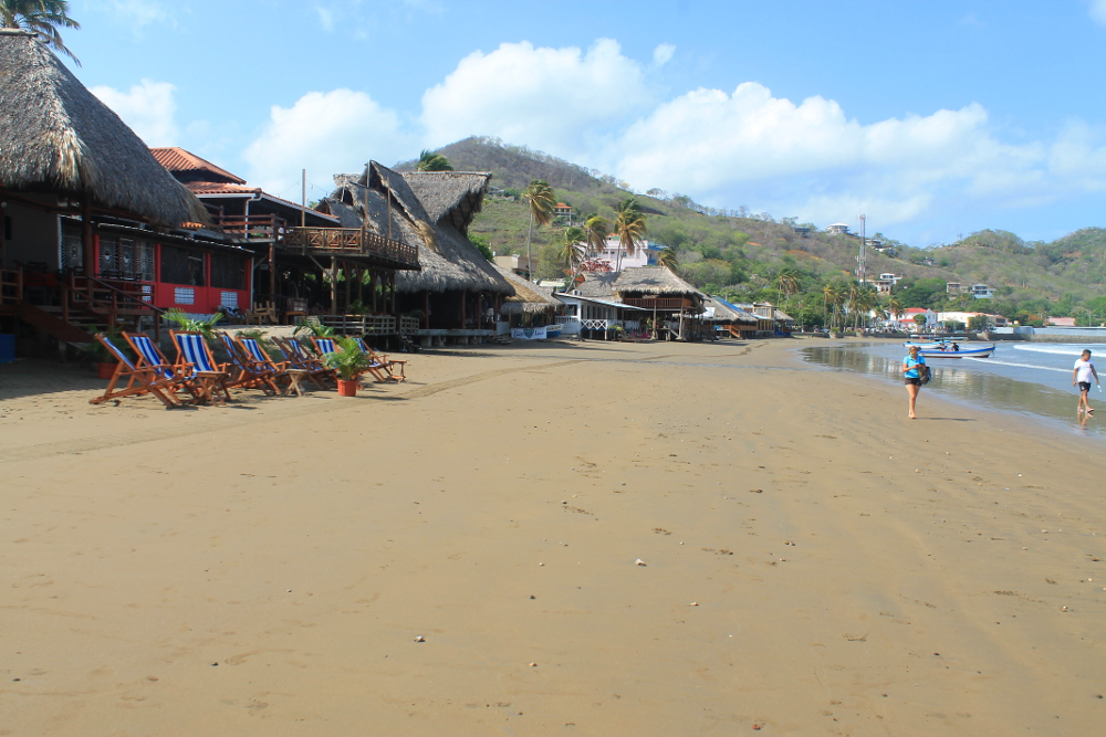 San Juan Del Sur town, Nicaragua: the best beaches in San Juan Del Sur are elsewhere