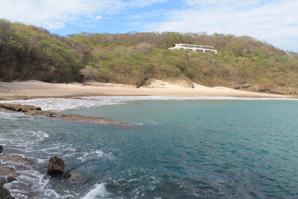 Playa Santo Domingo: One of the deserted beaches in San Juan Del Sur