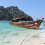 Crowded Island Hopping in Krabi, Thailand