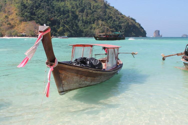 island hopping in Krabi 4 island tour, Thailand
