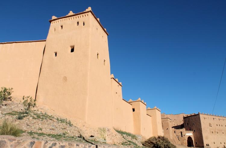 Ouarzazate on the 3 day Sahara Desert tour from Marrakech, Morocco
