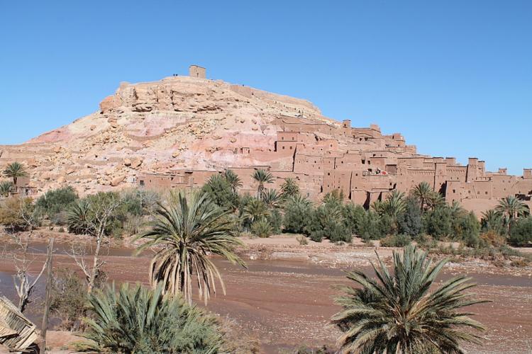 Ait-benhaddou on the 3 day Sahara Desert tour