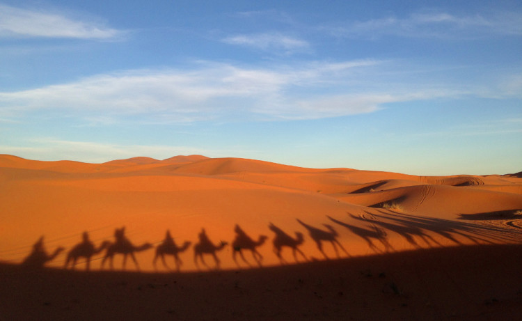 Camel riding: The 3 day Sahara Desert tour from Marrakech, Morocco