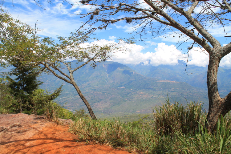 On our way from Barichara to Guane, Colombia