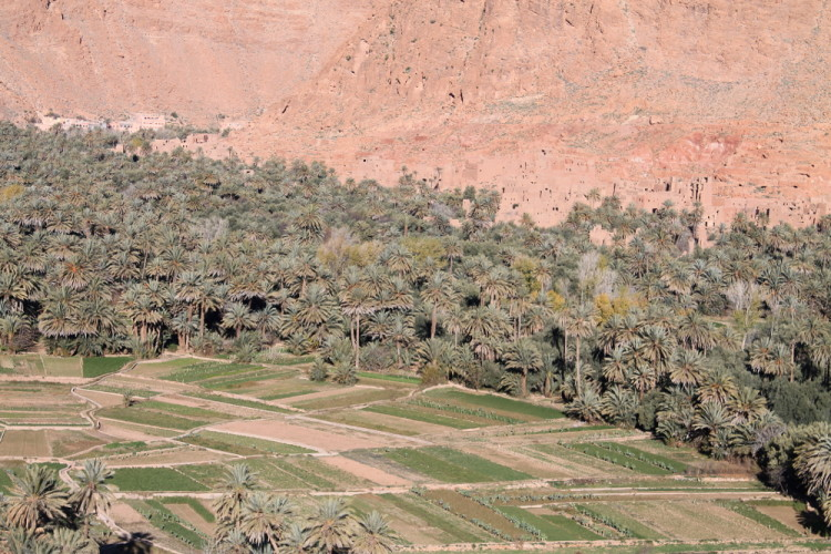 Scenery on the 3 day Sahara Desert tour from Marrakech, Morocco