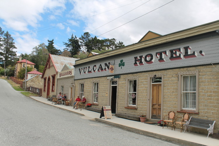 Searching for ghosts in St Bathans, New Zealand - the Vulcan Hotel